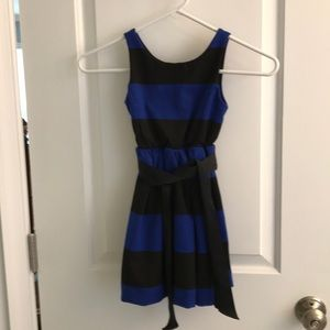 Blue and black Ralph Lauren party dress size 4